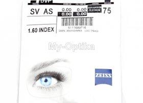Линза Carl Zeiss SV 1.6 AS DV Platinum UV