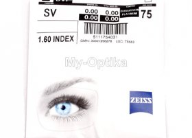 Линза Carl Zeiss SV 1.6 DuraVision Platinum UV