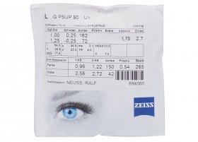 Линза Carl Zeiss SmartLife Superb 1.5 Lotutec UV