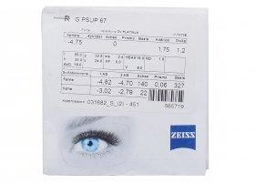 Линза Carl Zeiss SmartLife Superb 1.67 Lotutec UV