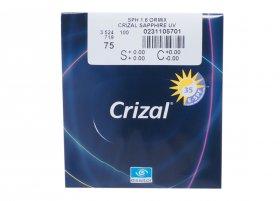 Essilor 1.6 Ormix Crizal Sapphire UV