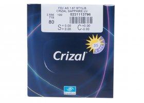 Линза Essilor 1.67 Stylis AS Crizal Sapphire UV