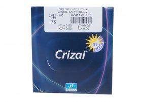 Линза Essilor 1.67 Stylis Crizal Sapphire UV