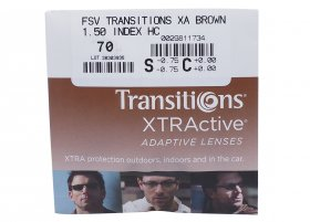 Линза Essilor Orma 1.5 Transitions XTRActive