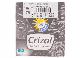 Линза Essilor Stylis 1.67 Crizal Forte UV