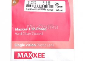 Линза Hoya Maxxee 1.56 Photo Brown Gray HCC