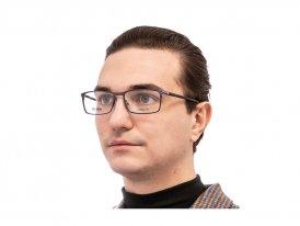 Hugo Boss 1006 FLL на мужском лице
