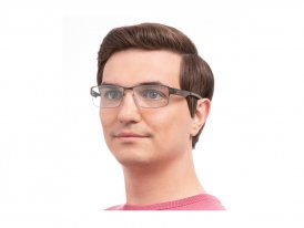 Ic Berlin Jurgen-H Graphite на мужском лице