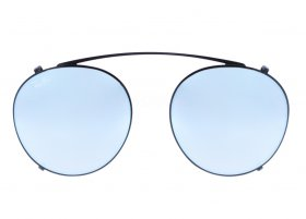 Ray-Ban 2447C 2509/B8 Round Clip-on